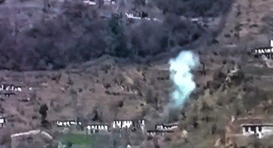 Pak shelling