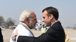Modi and Macron