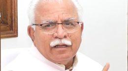 Manohar Lal,CM, Haryana