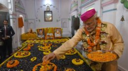 Modi at Janaki Mandir