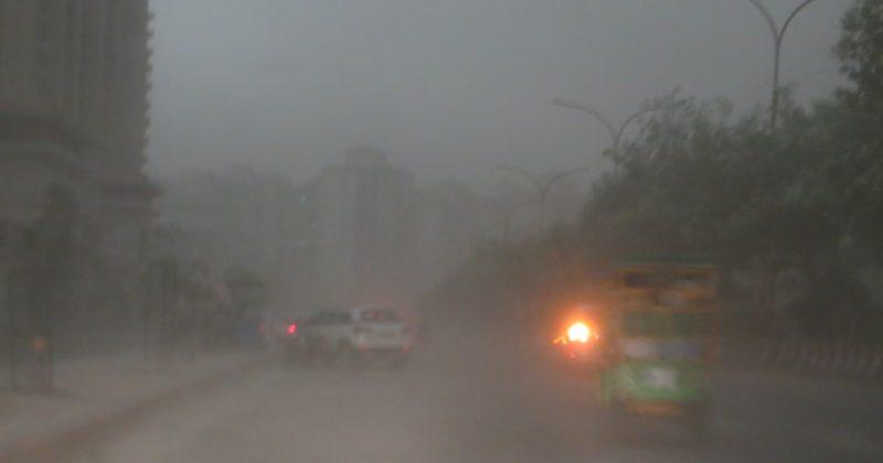 Dusty storm