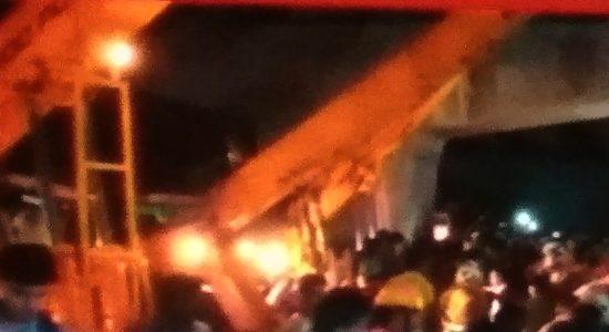 Varanasi Flyover collapsed