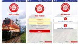 Rail Maddad App