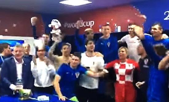 Croatia celebrates victory