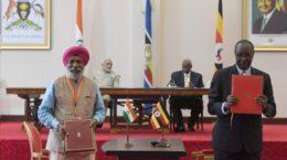Agreements India Uganda