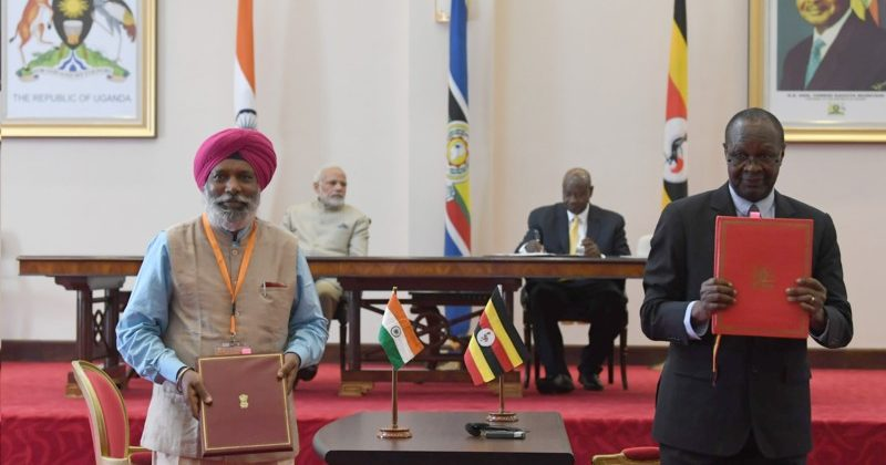 Agreements India Uganda