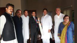 Bisaria and Imran Khan