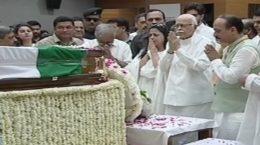 Advani tribute to Atalji