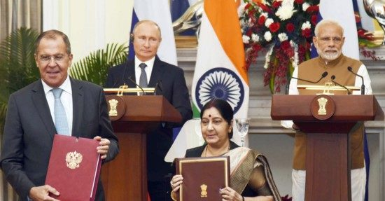 Modi Putin agreements