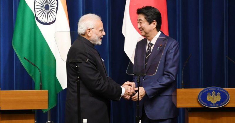Narendra Modi and Shinzo Abe