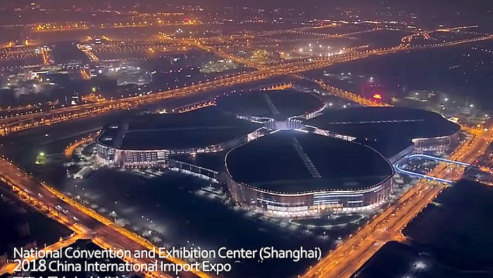 first China International Import Expo,Shanghai