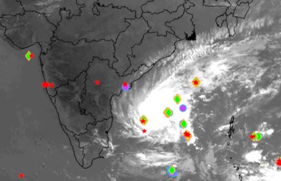 cyclonic storm Gaja
