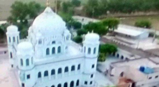 Kartarpur Sahib TV photo