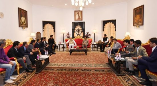 Delegation from Film and Entertainment Industry