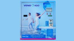 AUTOMATED SANITARY NAPKIN VENDING MACHINE