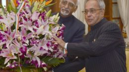 Ansari and Pranab Mukherjee