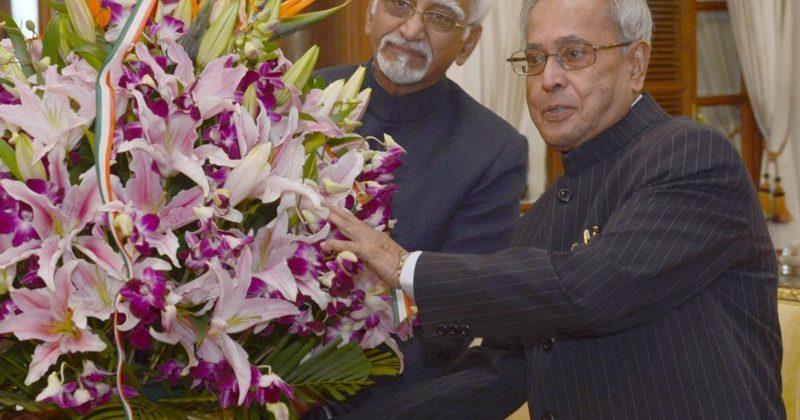 Ansari and Pranab Mukherjee