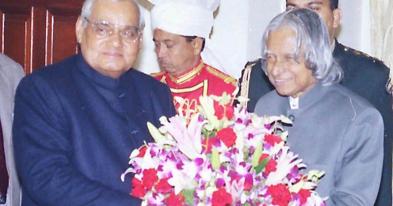 Atalji greets Kalam