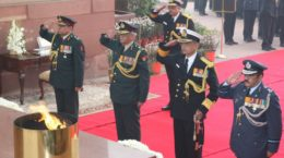 the 245th Anniversary of Army Medical Corps (AMC) in New Delhi on January 01, 2009.