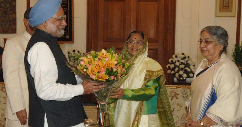 Manmohan greets President Patil