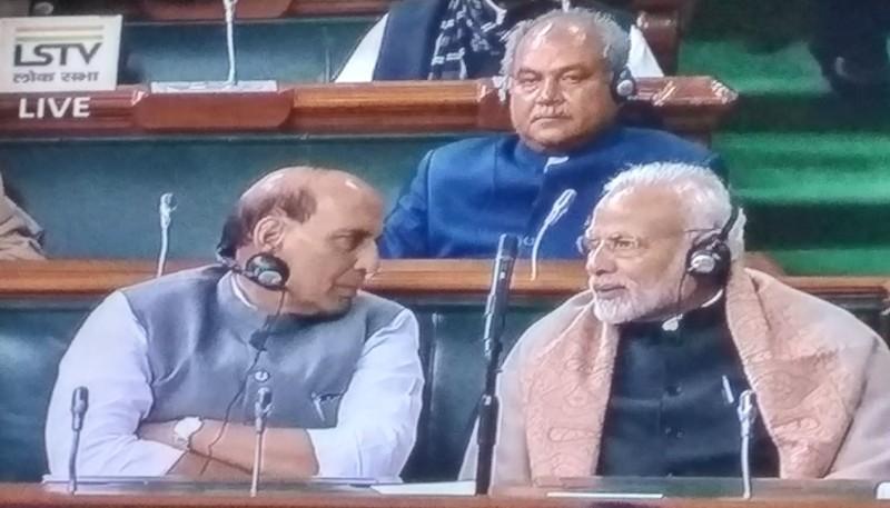 Rajnath and Modi