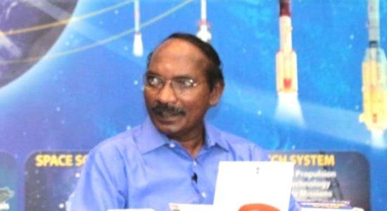 ISRO Chairman Dr K Sivan