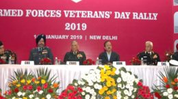 Armed Forces Veterans' rally