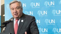 António Guterres on Pulwama attack