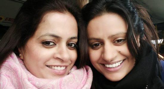 Happiness Vandana and Dipty