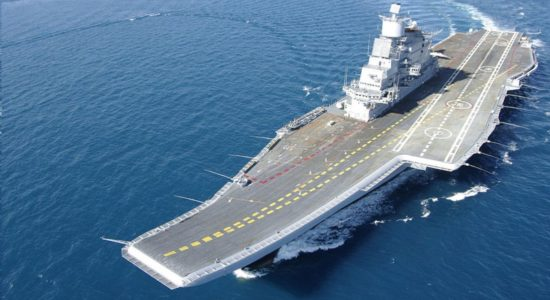 INS Vikramaditya courtesy Indian Navy