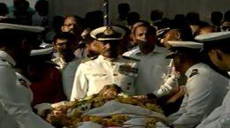 Manohar Parrikar _last farewell